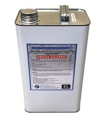 Pattern Imprinted Concrete Sealer - High Gloss (5Ltr)